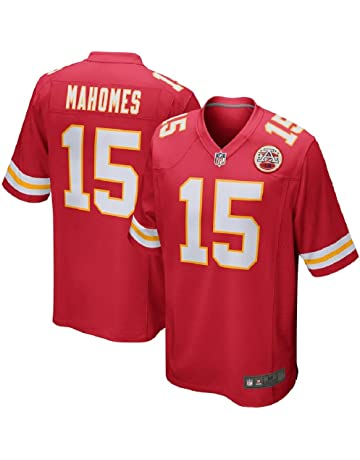 a71cda9a2 Majestic Athletic Men s  15 Kansas City Chiefs Patrick Mahomes II  StitchJersey
