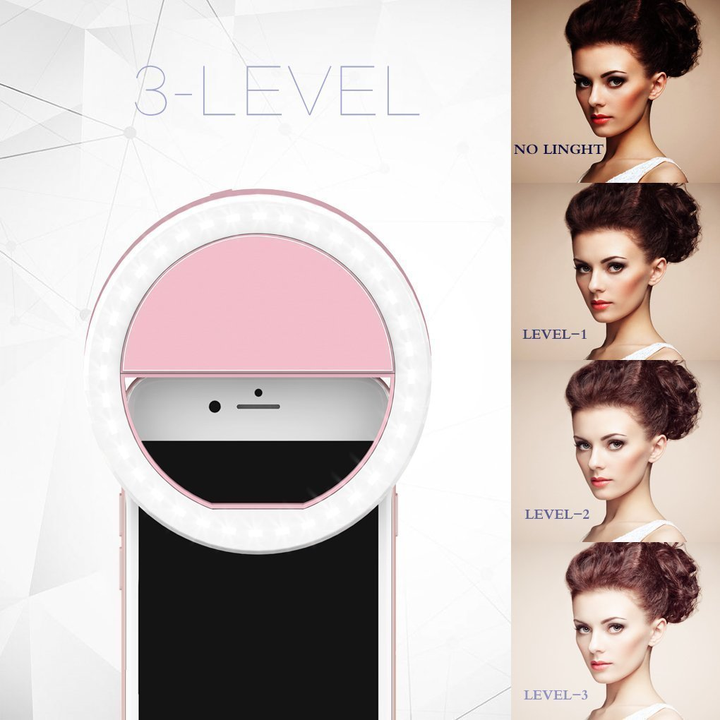 LIRANK Selfie Stick Tr/ípode 1,22 m con Anillo luz Remoto Bluetooth para Live Stream y Makeup-iPhone X//SE//6//6S//6 Plus//7//7 Plus//8//8 Plus//,Samsung 8//S8//S8 Plus,Nexus,LG,Moto y m/ás Rosa
