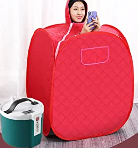 Kexle Sauna Machine for Weight Loss & Detox - Portable Personal Sauna with Steamer for Home - Machine Tent with Steam Generator
