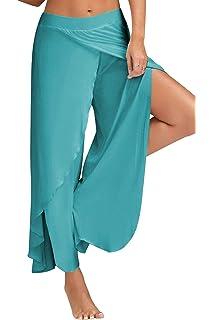 FITTOO Pantalones Profesionales De Yoga Sueltos Cintura Alta ...