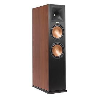 Klipsch RP-280FA Floorstanding Speaker with Built-In Dolby Atmos Height Channel - Each (Cherry Vinyl)