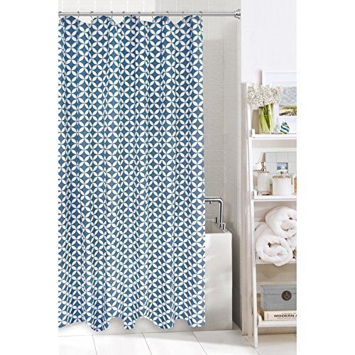Amazon Colordrift Hadley Fabric Shower Curtain Home Kitchen