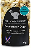 Billy + Margot Popcorn with Seaweed for Dogs, 20 g