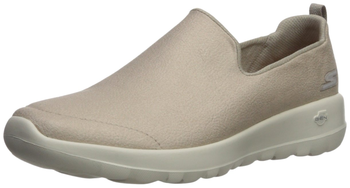 Skechers Women's Go Walk Joy-15612 Sneaker B07537S2TX 7.5 B(M) US|Taupe