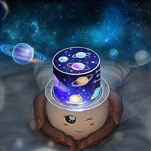 LED de Proyector Estrella, Lámpara de Proyección de Luz Nocturna ...