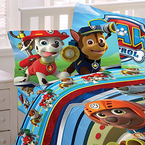 Franco Paw Patrol Puppy Hero Sheet Set