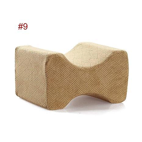 1 almohada de espuma viscoelástica para aliviar el dolor de espalda, piernas, embarazo, cadera y dolor en las articulaciones