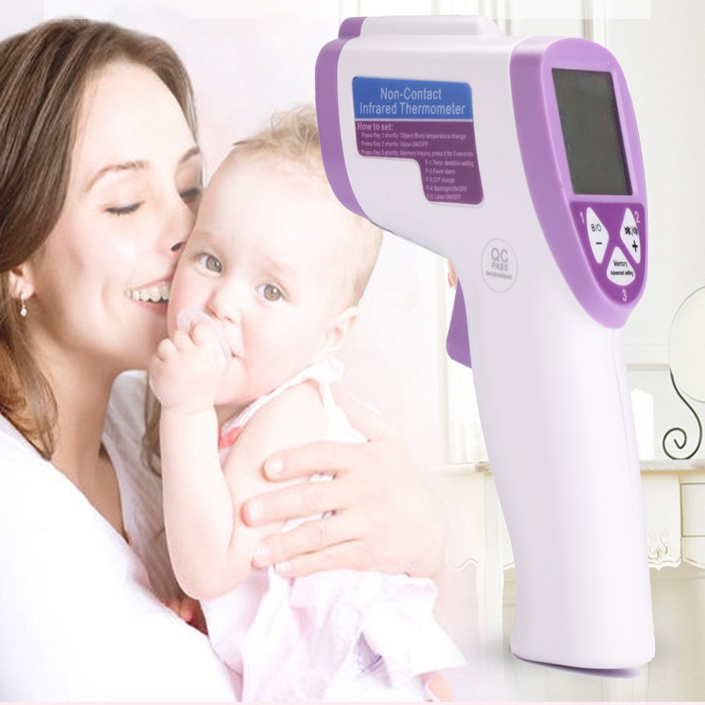 Baby Thermometer - Forehead and Ear Thermometer for Fever - Accurate Dual Mode Professional Medical Body Fever Thermometers for Baby, Kid and Adult by Snorain (Image #1)
