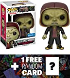 Killer Croc - Hooded (Walmart Exclusive): Funko POP! x Suicide Squad Figure + 1 FREE Official DC Trading Card Bundle (114387)