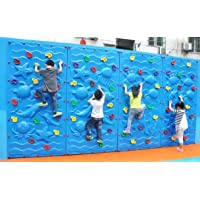 Toy Park Aqua Climbing Wall 8ft x 4ft with Climbing Stone, Climber for Kids (One Panel)