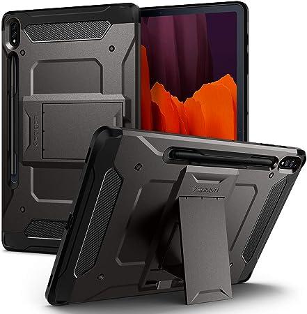 Spigen Tough Armor Pro Designed For Galaxy Tab S7 Plus Computers Accessories