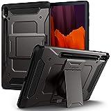 Spigen Tough Armor Pro Designed for Galaxy Tab S7 Plus Case with S Pen Holder (2020) - Gunmetal
