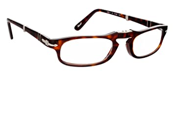 084af679e0762 Image Unavailable. Image not available for. Color  Persol Folding Reading  glasses model PO2886V Havana Brown ...