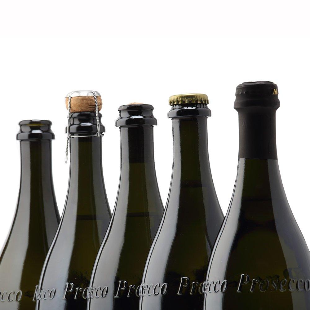 Cartòn de 12 Botellas vacías de Vidrio para Vino Prosecco: Amazon.es: Electrónica