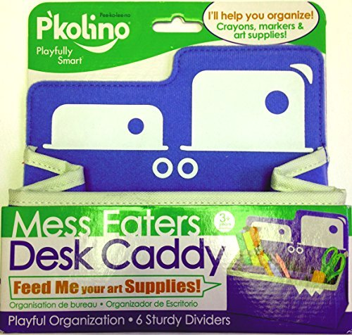 Pkolino Green Desk - P'kolino Mess Eaters Desk Caddy - Blue