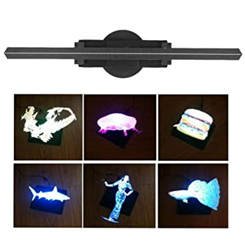 Ventilador Holograma 3D Digital holográfico proyector LED ...