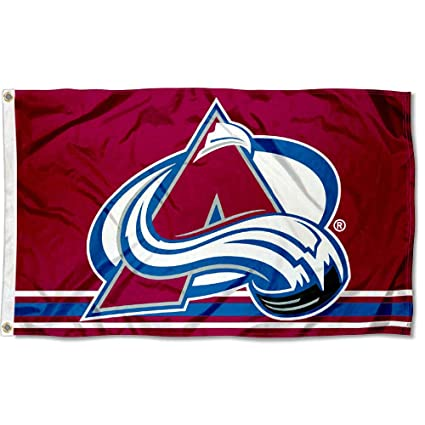 free shipping c4d74 7d12f Wincraft Colorado Avalanche Flag 3x5 Banner