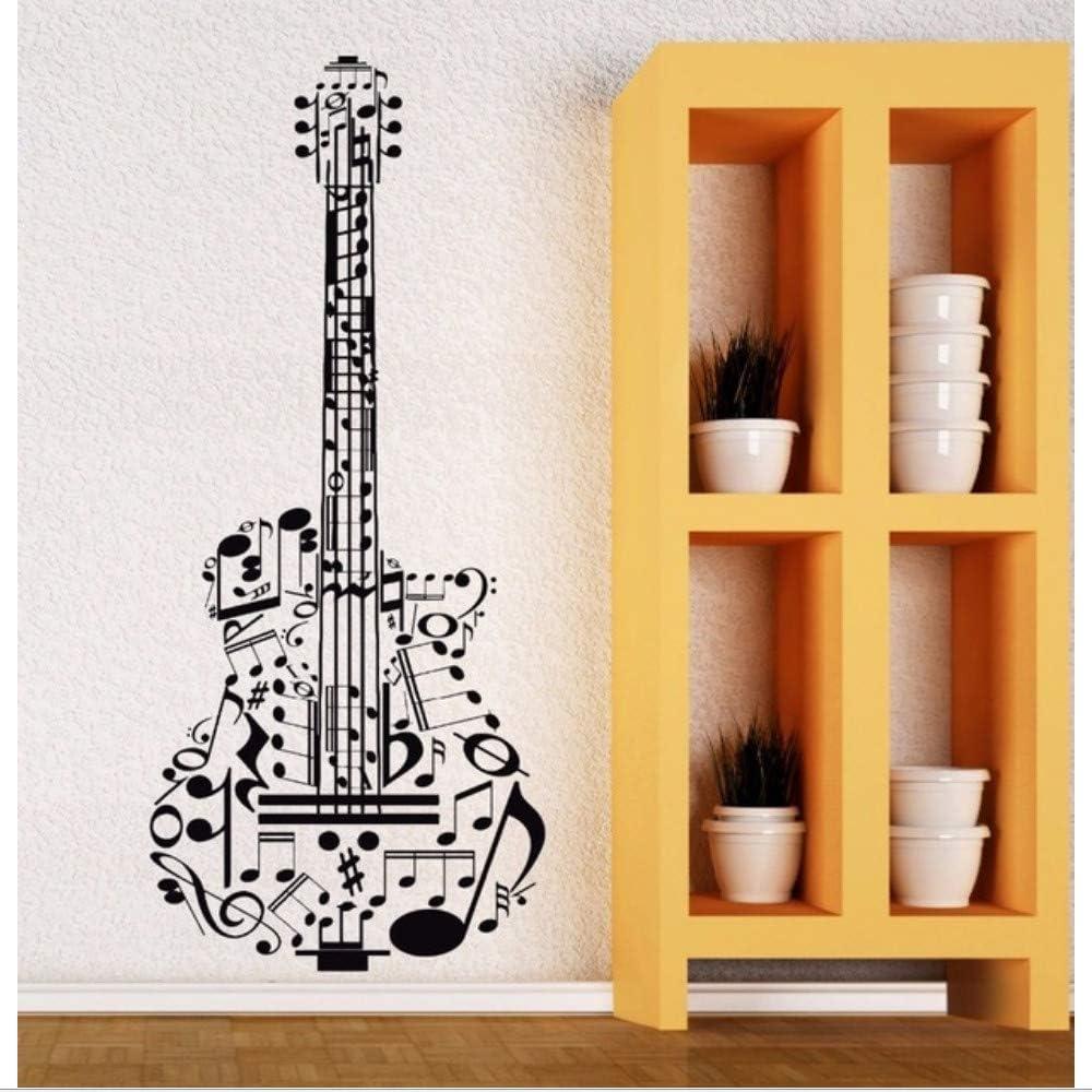 Lkfqjd Vinilo Tatuajes De Pared Guitarra Música Vinilos ...