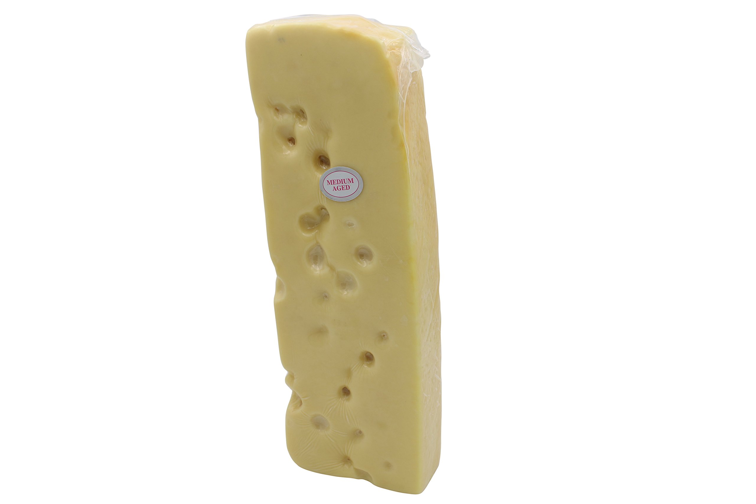 Shullsburg Creamery - Medium Aged Swiss Cheese - 7 Pound Loaf