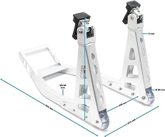 Motorradständer Universal Montageständer Motorrad Vorne Aluminium Vorderradständer Auto