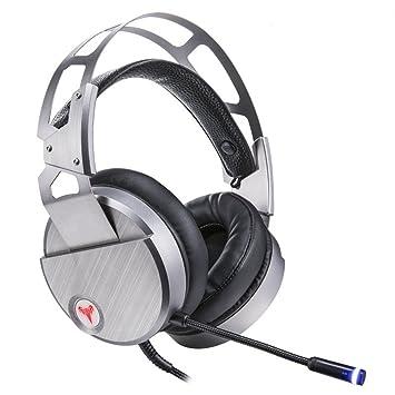 Auriculares para videojuegos con micrófono para Xbox One, PS4, Nintendo Switch, PC,