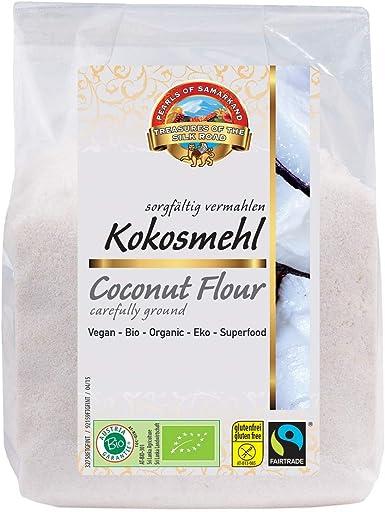 Proteína de coco orgánica 1.8 kg BIO baja en carbohidratos, 21% de proteína, 37% de fibra, comida cruda, polvo harina hecha en Austria de Sri Lanka ...