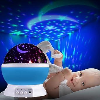 Estrellas lámpara proyector LED Starry Night Lamp luz de ...