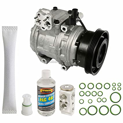 Amazon.com: OEM AC Compressor w/A/C Repair Kit For Kia Spectra & Spectra5 - BuyAutoParts 60-83733RN NEW: Automotive