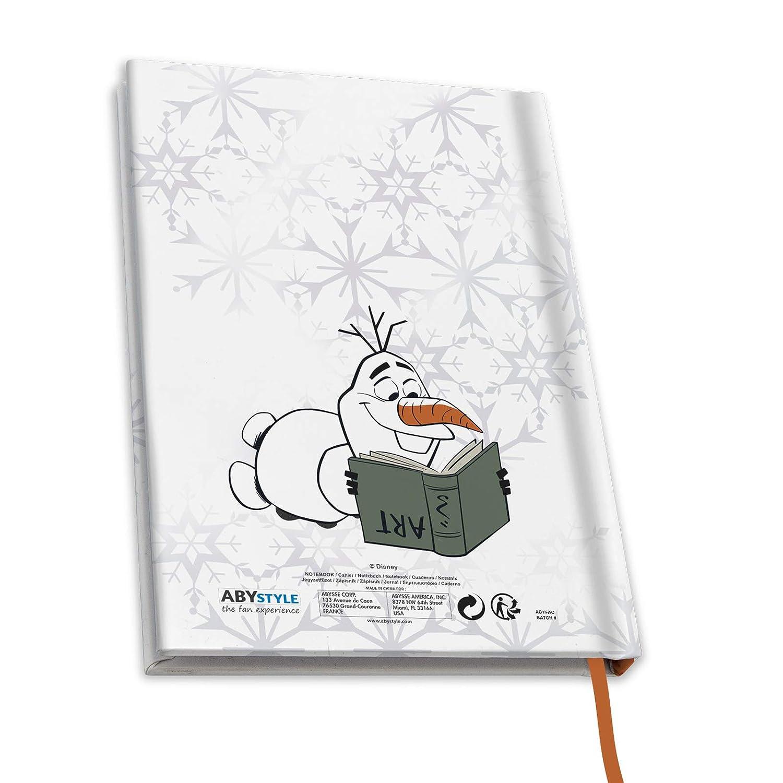 ABYstyle Olaf Frozen 2 Il regno di ghiaccio Disney Taccuino