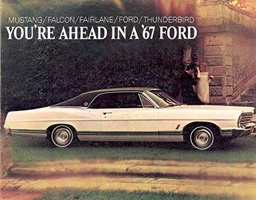 Ford Brochure - 1967 Ford Full Line Brochure Mustang Falcon Fairlane