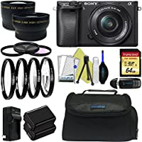 Sony Alpha a6300 Mirrorless Digital Camera with 16-50mm Lens + Pixi-Advanced Accessory Bundle - International Version Review Review Image