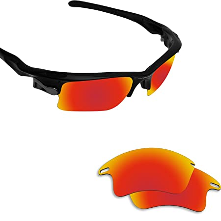 6415950609d Amazon.com   Fiskr Anti-Saltwater Polarized Replacement Lenses for Oakley  Flak Jacket XLJ Sunglasses 2 Pairs Packed   Sports   Outdoors