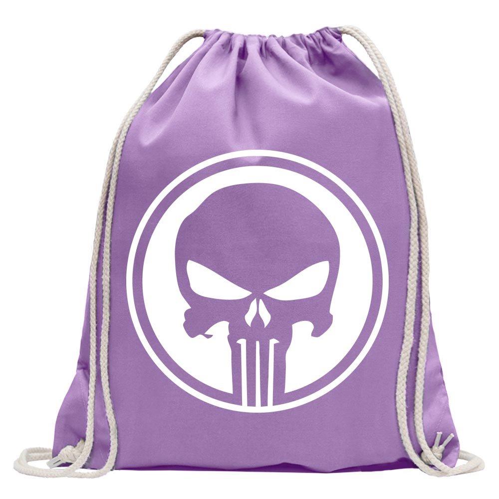 Punisher USA - Tank Skull Fun sport Gymbag shopping cotton drawstring