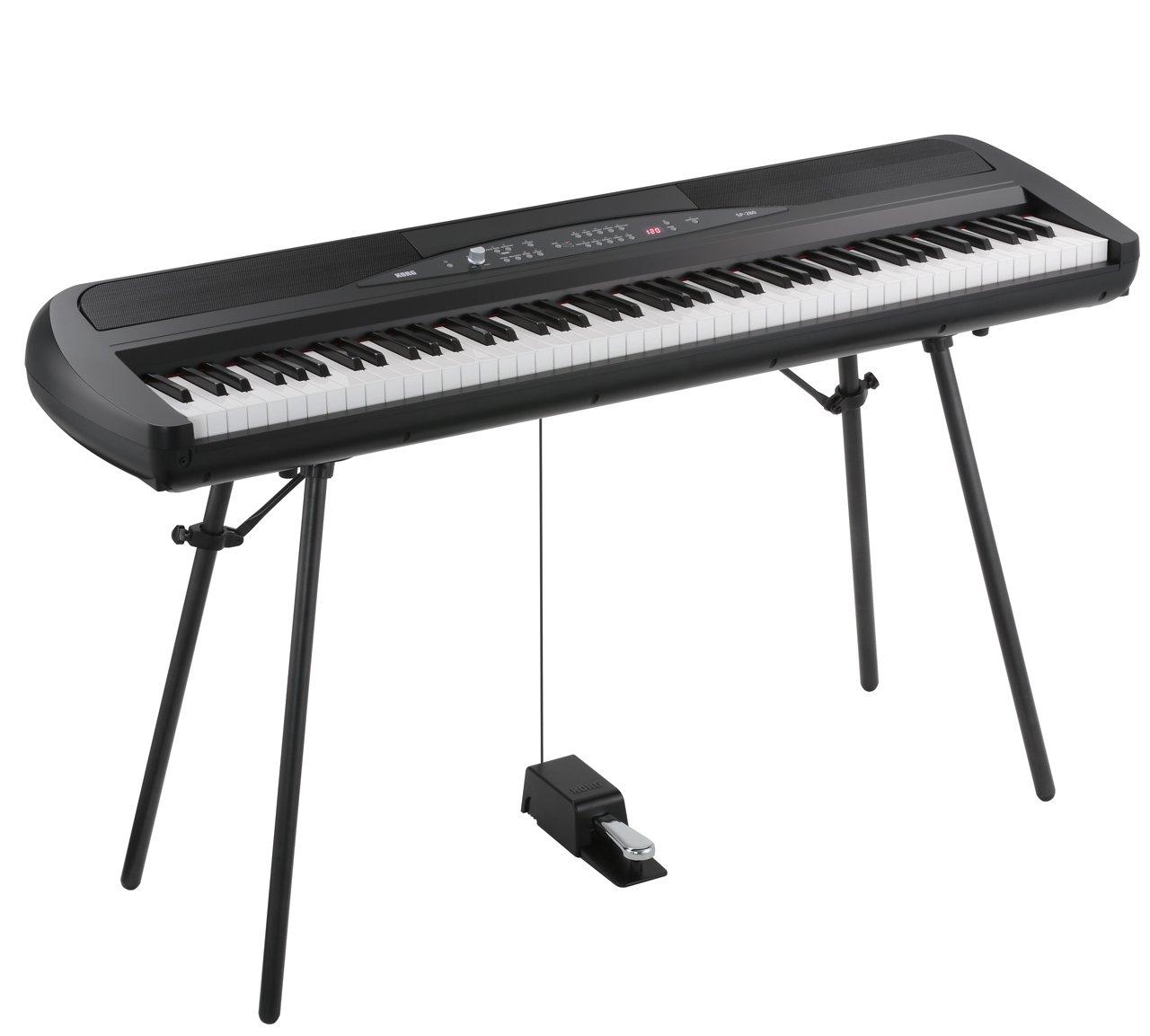 Korg SP280BK 88-Key Digital Piano with Speaker by Korg (Image #3)