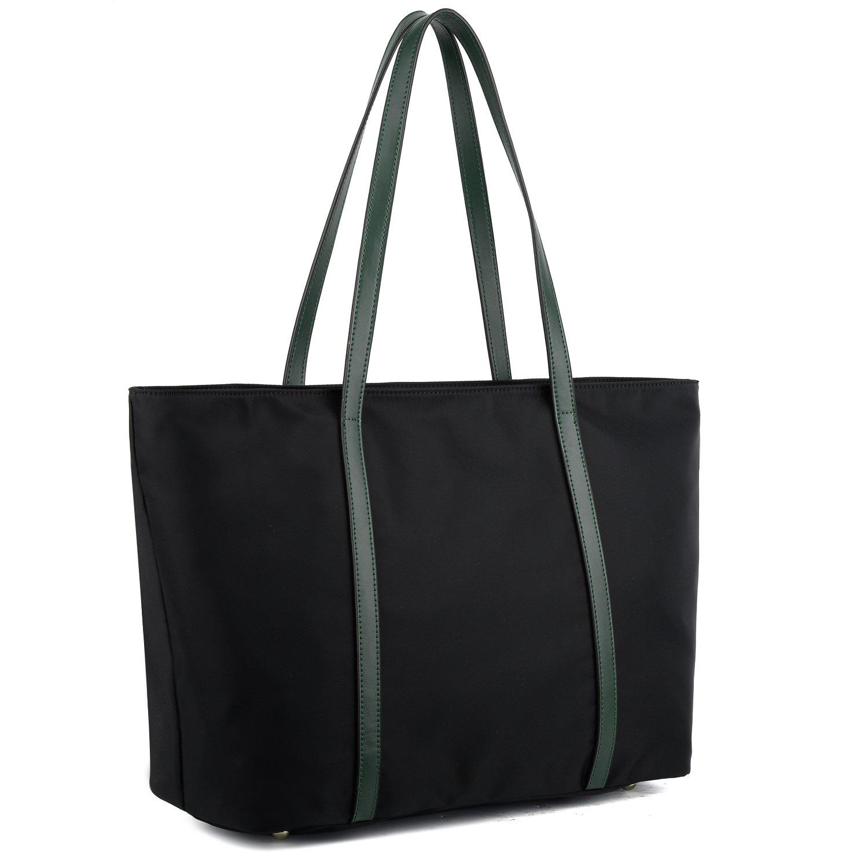 YALUXE Women's Oxford Nylon Large Capacity Work Tote Shoulder Bag