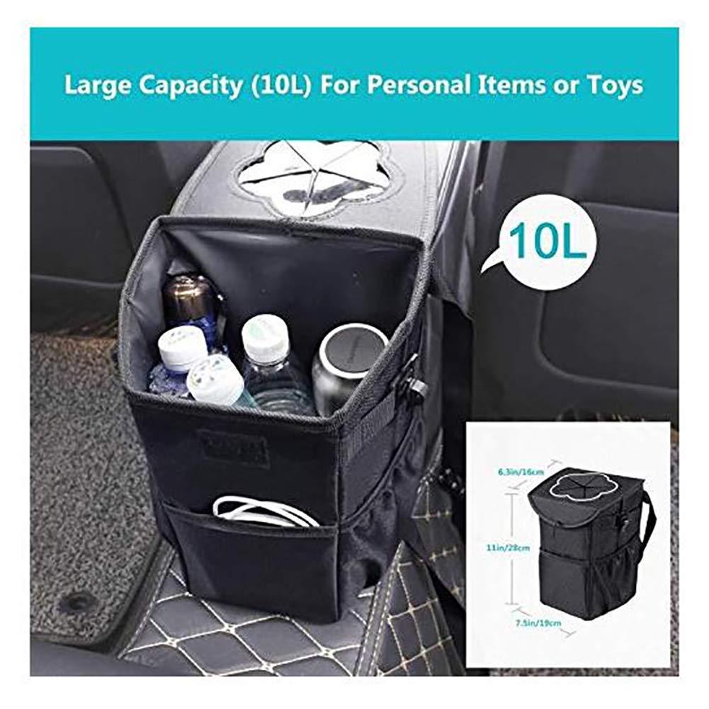 Amazon.com: Doifck Cubo de basura para coche, bolsa de ...