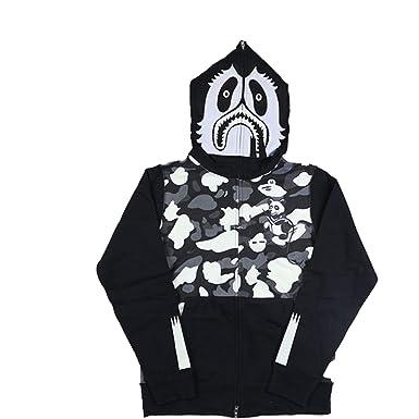 04f6bb688031 Amazon.com  Bape Panda Camo Hoodies Glow in the dark (X-Large
