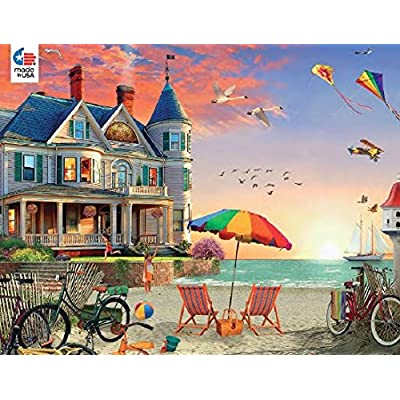 Ceaco 3396 5 Puzzle David Maclean Motivo Casa Vittoriana 1000 Pezzi
