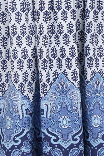 Pistachio - Vestido - cuello hálter - para mujer Azul