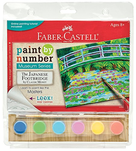 Faber Castell 14302 Paint Museum Series - The Japanese Footbridge Playset