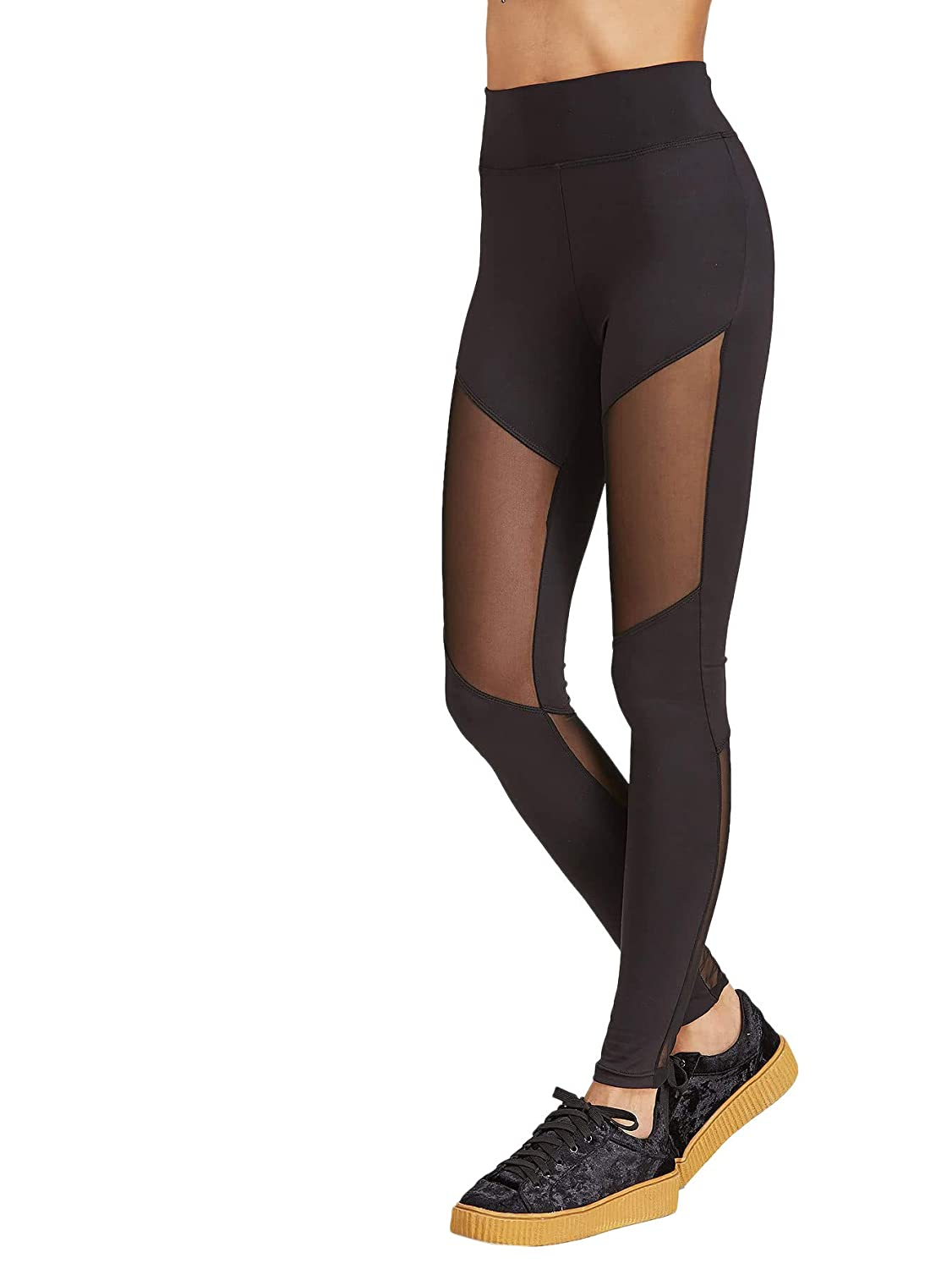 SOLY HUX Mujer Fitness Leggings Mallas Deporte Leggins Opaco Pantalones Gimnasio