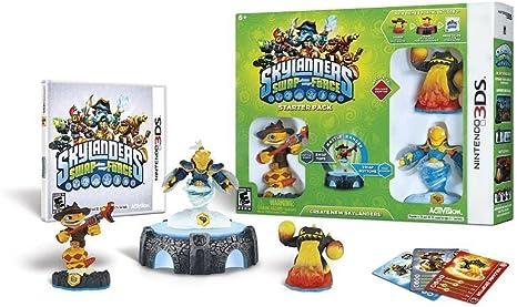 Activision Skylanders Swap Force Starter Pack 3DS - Juego (Nintendo 3DS, Acción / Aventura, RP (Clasificación pendiente)): Amazon.es: Videojuegos