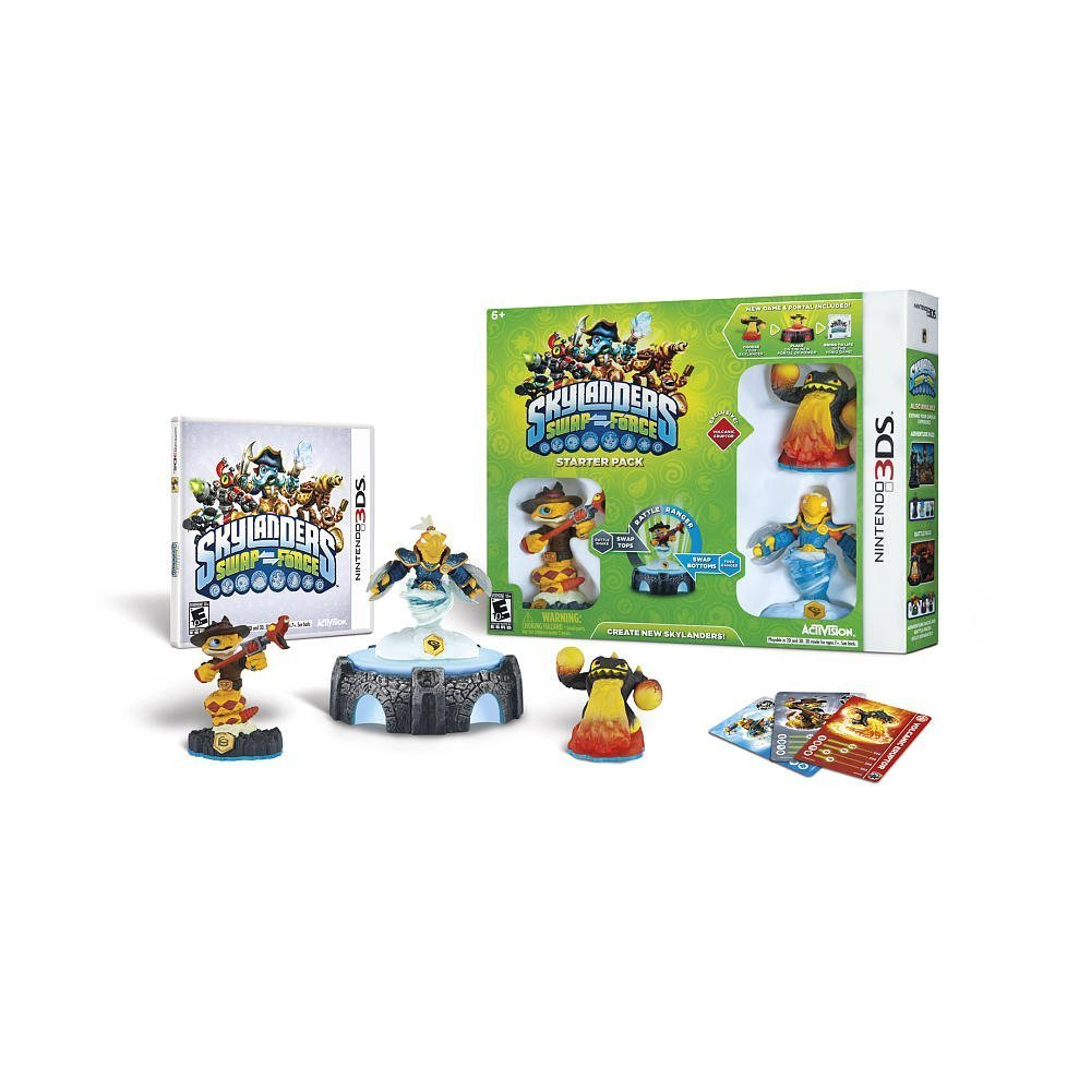 Skylanders SWAP Force Starter Pack - Nintendo 3DS