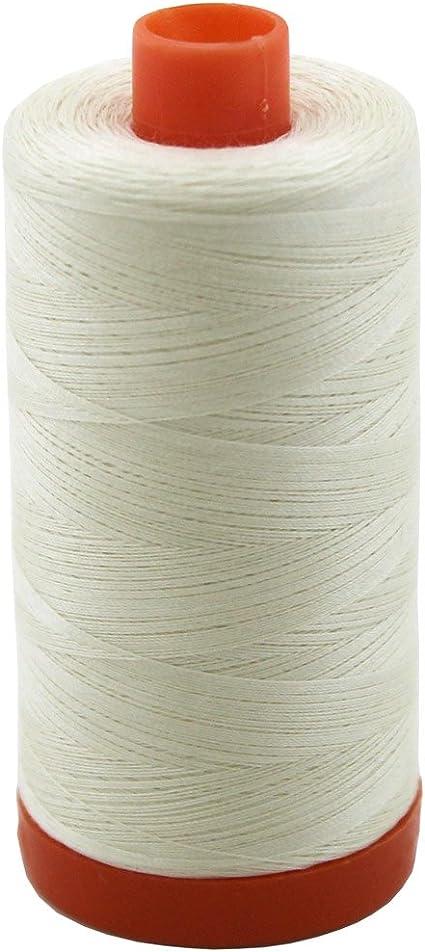 Aurifil Quilting Thread 50wt Oyster White
