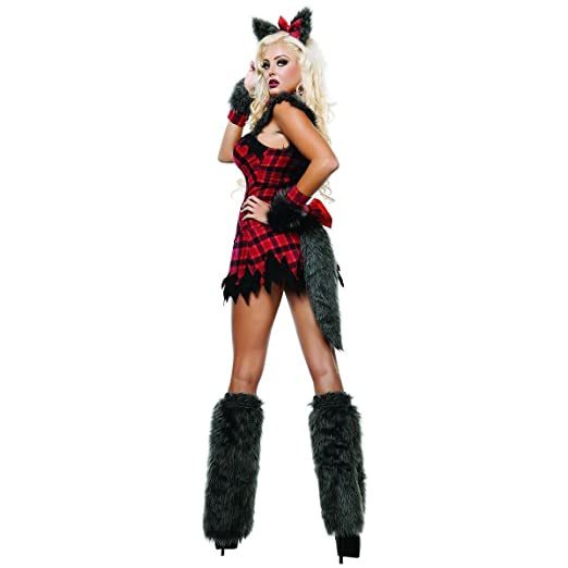 Sexy Midnight Wolf Halloween Costumes