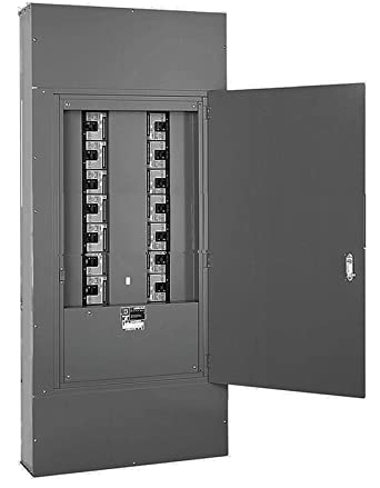 I Line Panel Complete 400 Amp 3 Phase Square D With Interior Can And Trim With Door Holds Up To 14 Three Phase Circuit Breakers Up To 250 Amp Each Amazon Com Industrial Scientific