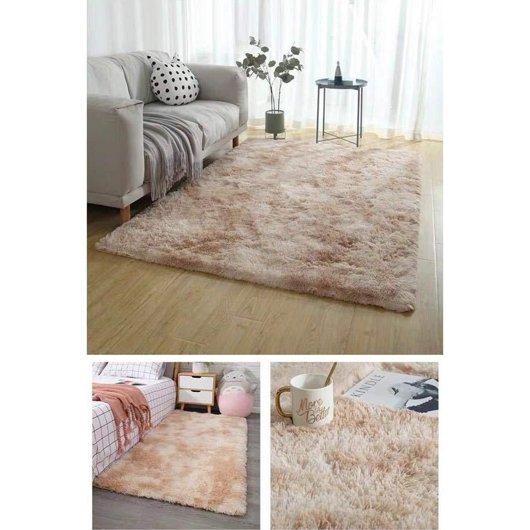 Pongaps D/écor moderne ultra doux de tapis de peluche de pi/èce de maison de tapis de p/épini/ère de carpettes modernes Tapis