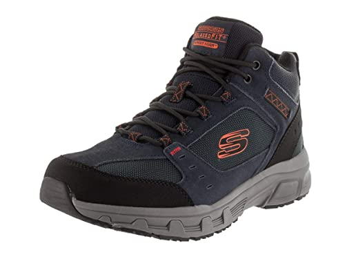41a3cc2fa632 Skechers Men s Oak Canyon- Ironhide Hi-Top Trainers  Amazon.co.uk  Shoes    Bags