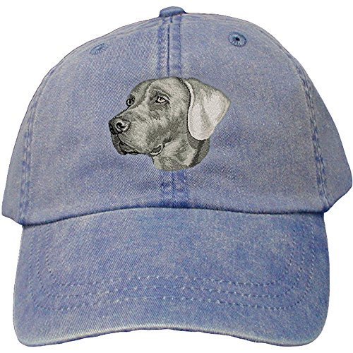 0f04be3925d Amazon.com  Cherrybrook Dog Breed Embroidered Adams Cotton Twill Caps -  Royal Blue - Affenpinscher  Clothing