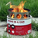 Stove In A Can - Portable Outdoor Camp / Cooking Kit -...